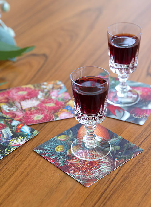 Wildflower Drink Coasters (8)
